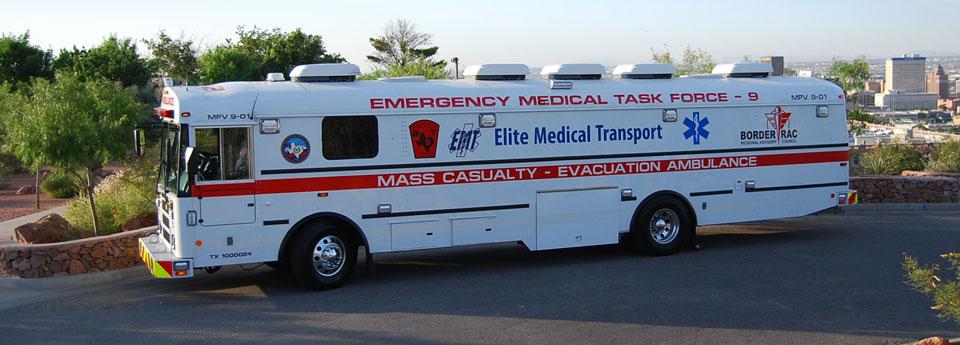 BorderRAC, EMTF 9, Elite Medical, El Paso