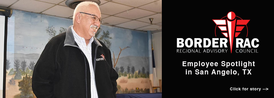 BorderRAC, San Angelo, Emergengy Preparedness